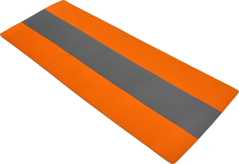striped yoga mat