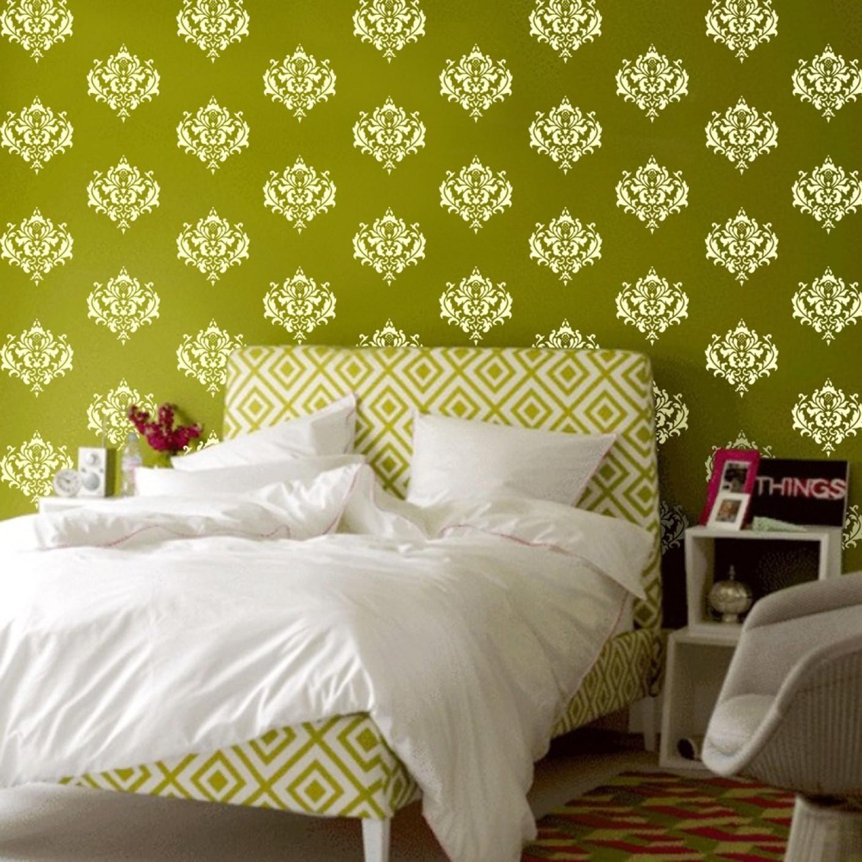 Beautiful Stencil Wall Ideas Ideas - The Wall Art Decorations ...
