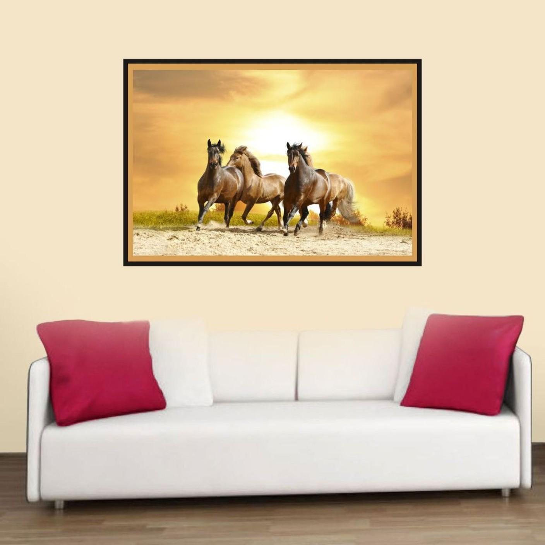 Beautiful Horses Wall Art Illustration - Art & Wall Decor ...