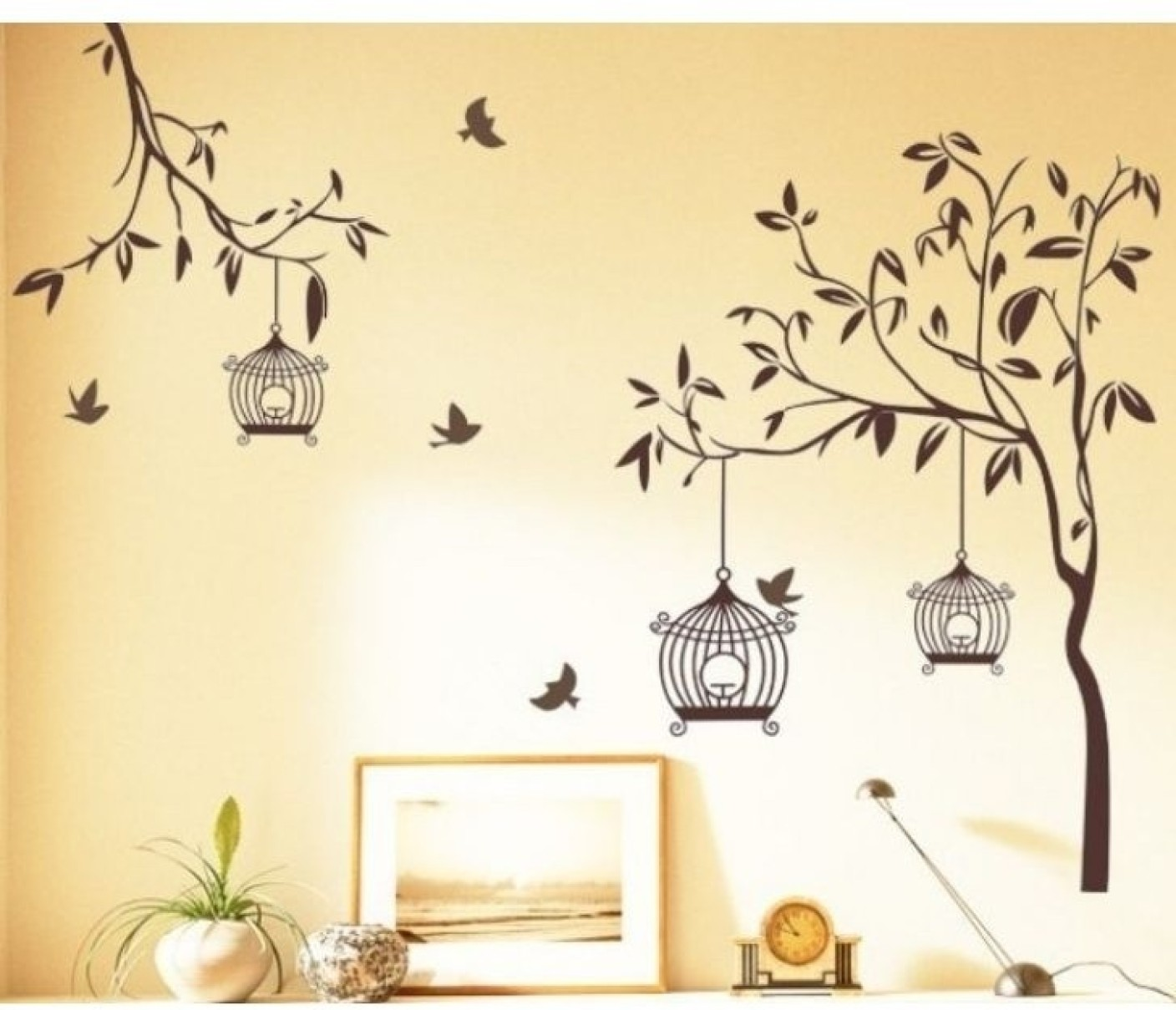 Aquire small pvc vinyl sticker price in india buy aquire for Wallpaper on walls home decor furnishings