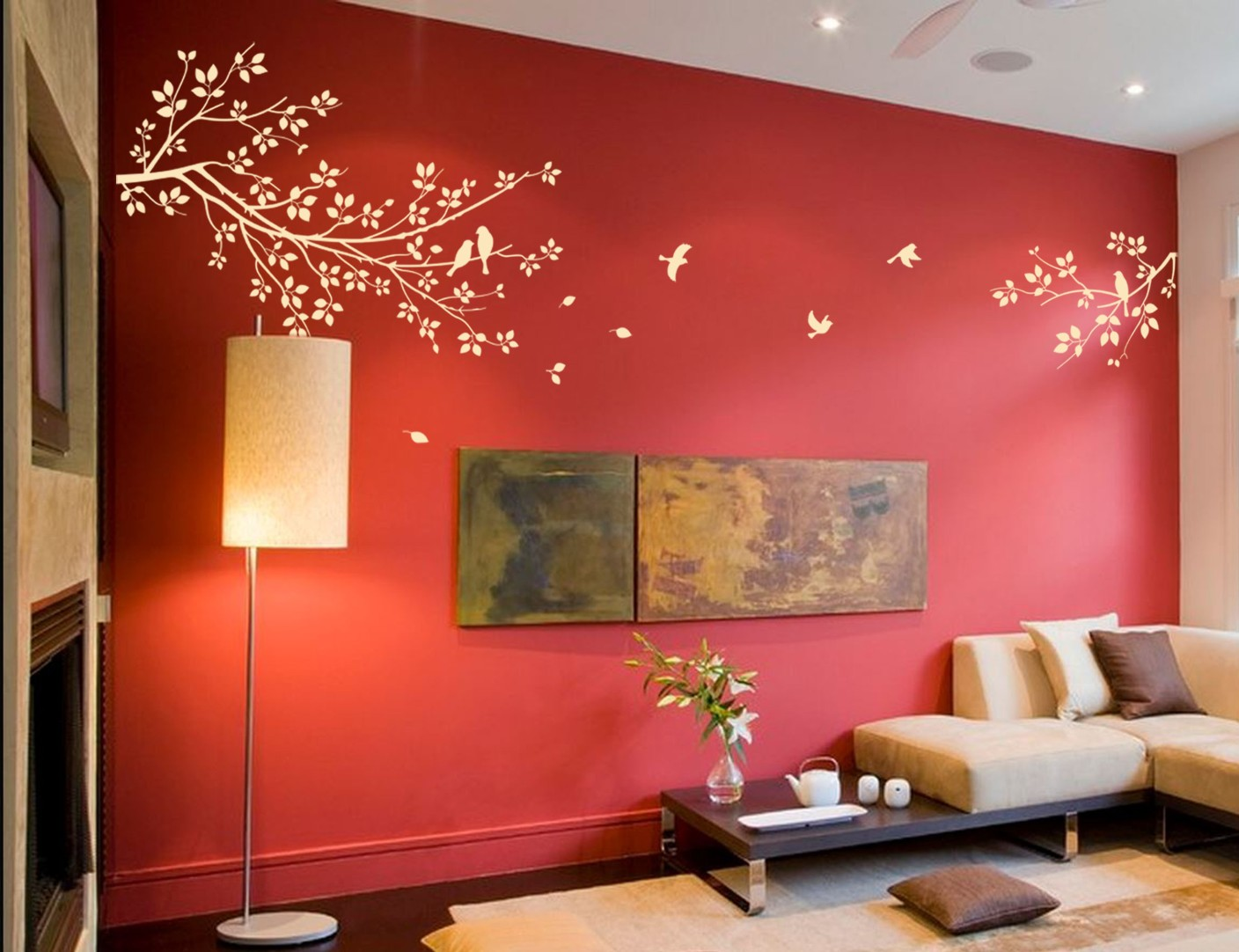 Wall design pvc sticker price in india buy wall design for Wall designer online