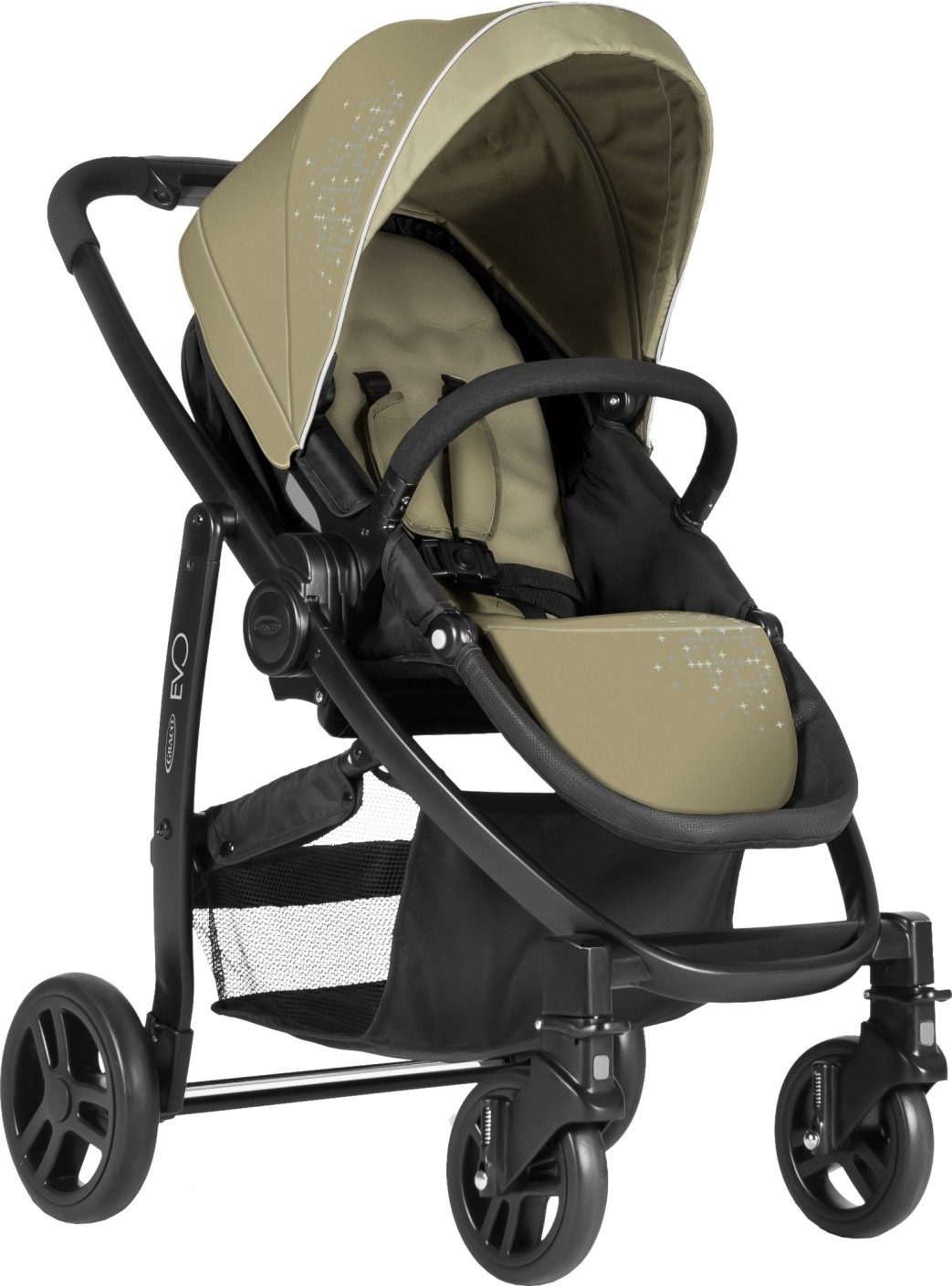 Graco Evo Travel System Sand Buy 3 Position Reclining