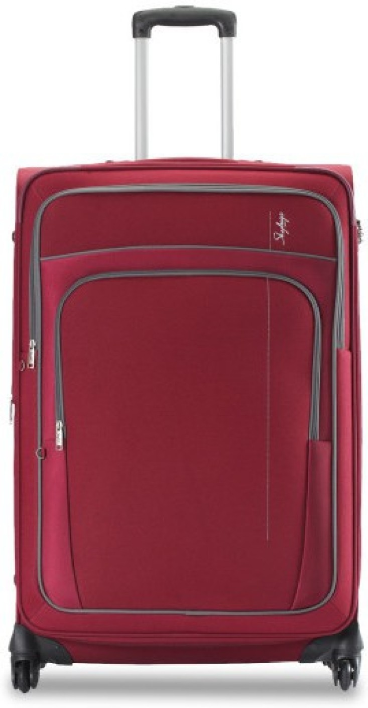 Skybags Grand Expandable Cabin Luggage 21 Inch Red