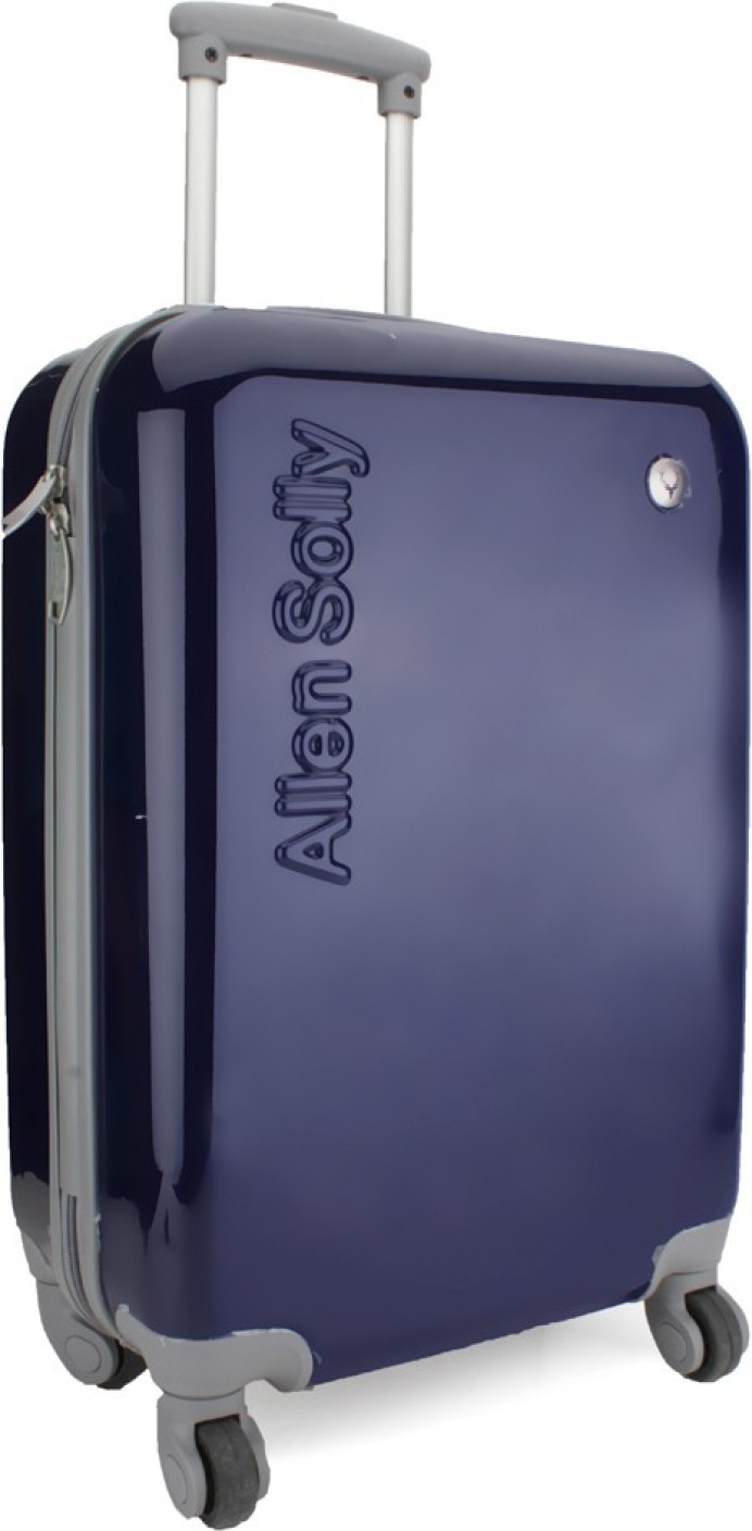Allen Solly Cabin Luggage 19 Inch Blue Price In India