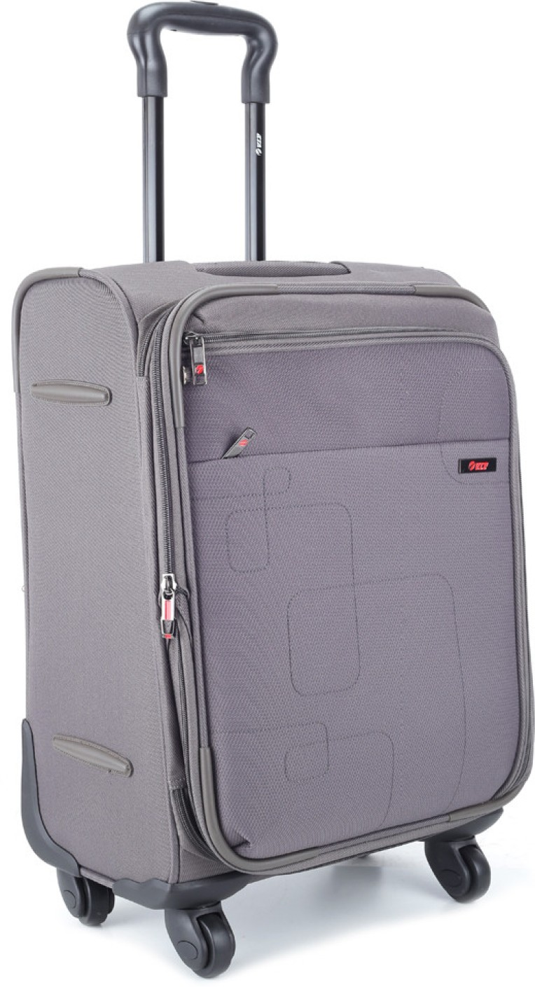 Vip Sensex Expandable Cabin Luggage 21 Inch Grey Price
