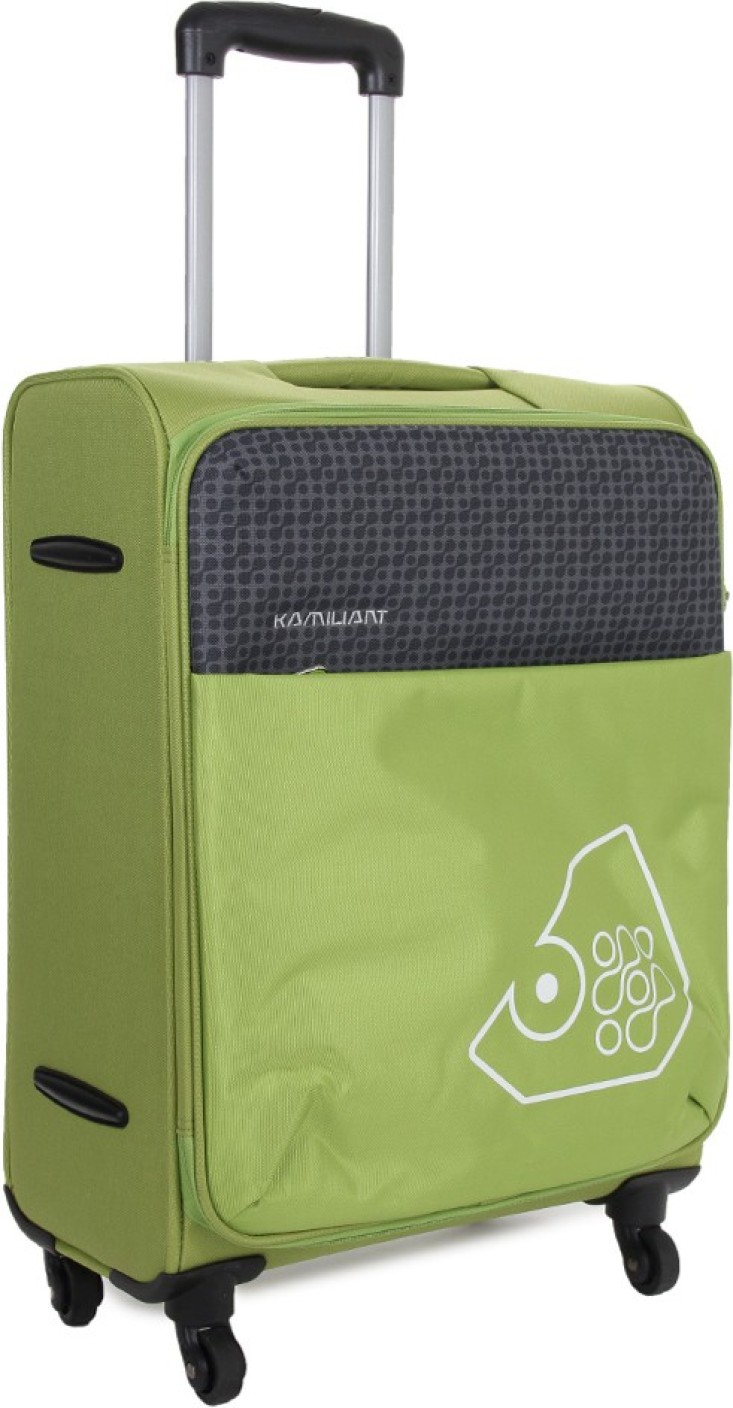 Kamiliant Zulu Expandable Cabin Luggage 22 Inch Lime