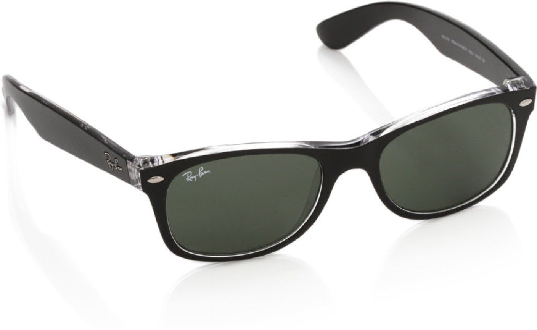 Buy Ray-Ban Wayfarer Sunglasses Green For Women Online