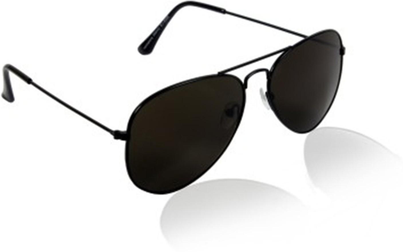 Buy Younky Aviator Sunglasses Black For Men Online @ Best ...