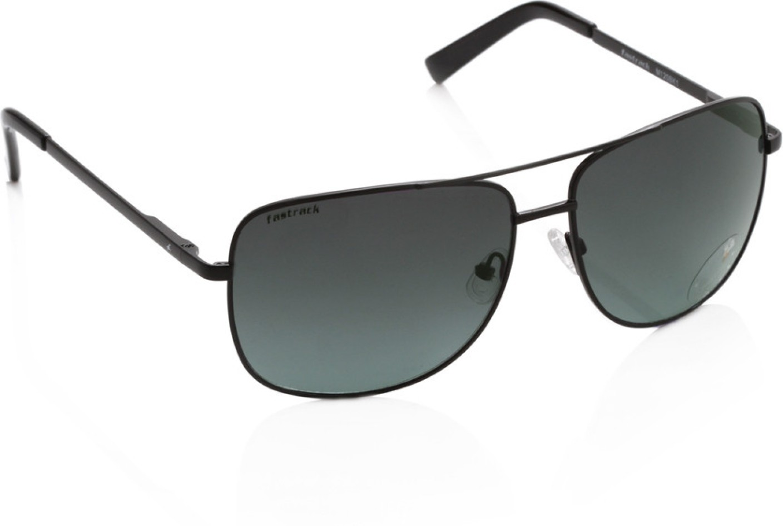 6b6ee0e6cb Buy Fastrack Rectangular Sunglasses Grey For Men Online   Best Prices in  India