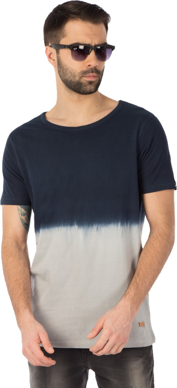 Rodid Self Design Men 39 S Round Neck Multicolor T Shirt