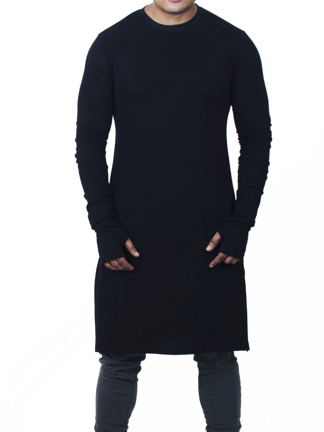 Fugazee lifestyle solid men 39 s round neck black t shirt for Best place to buy t shirts online