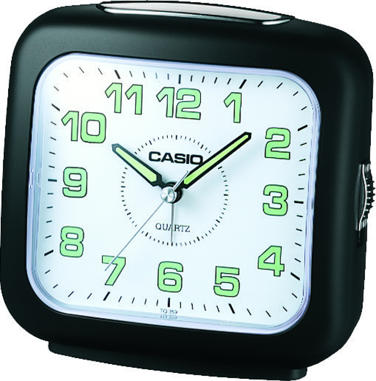 Casio analog black white clock price in india buy casio analog wishlist amipublicfo Gallery