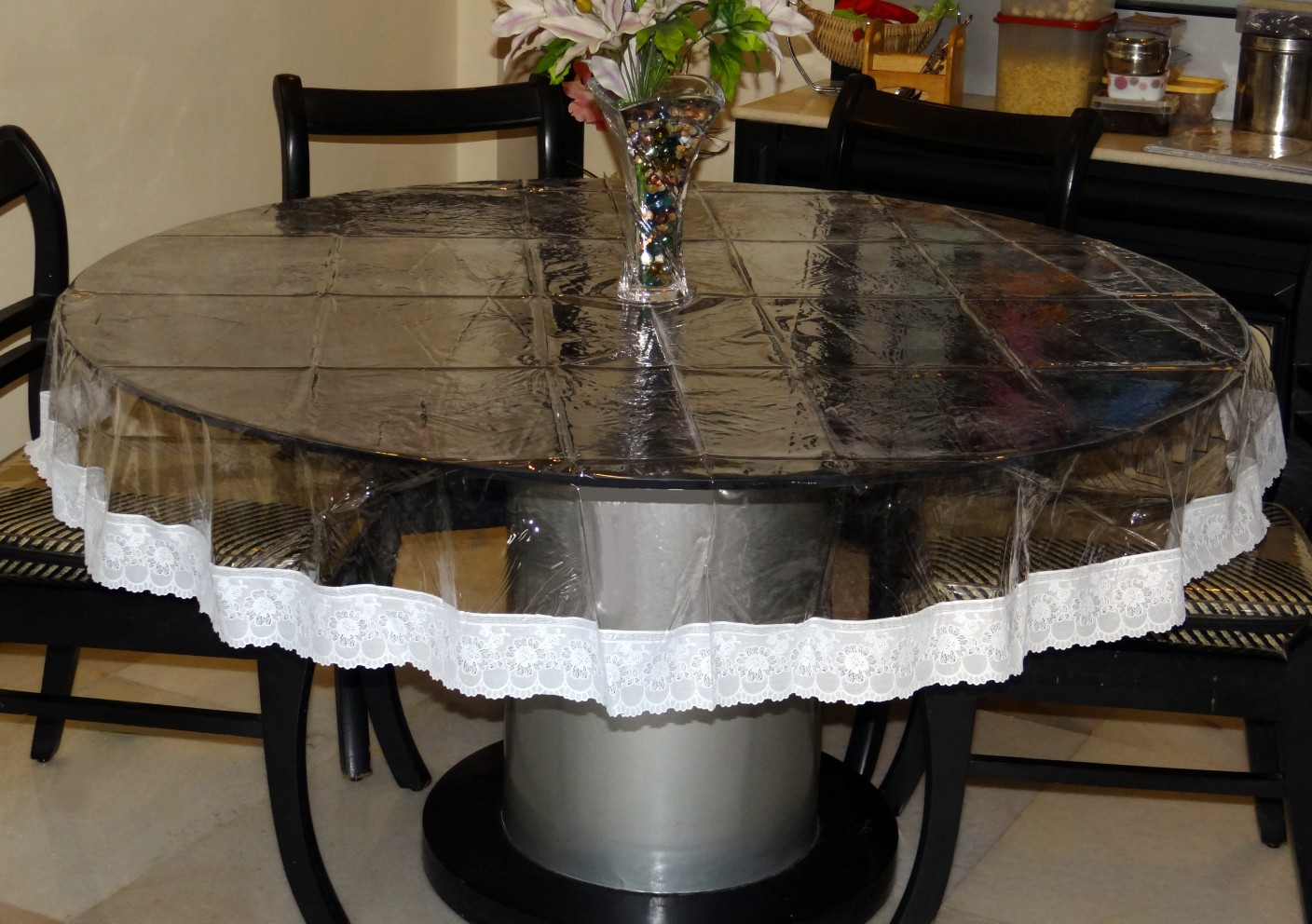 Katwa Clasic Solid 4 Seater Table Cover Buy Katwa Clasic
