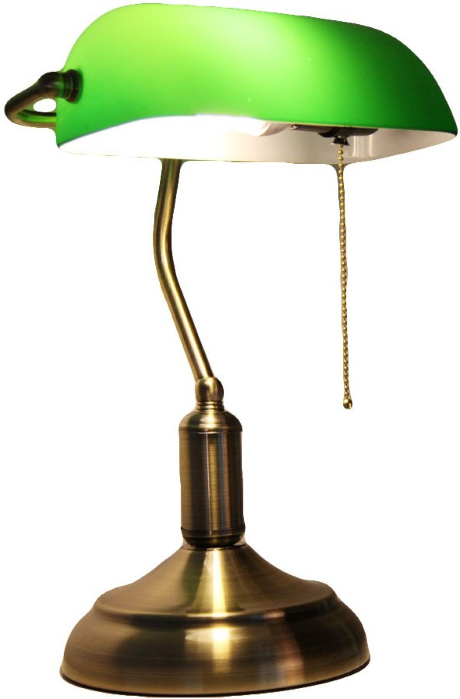 Prop it up vintage banker table lamp price in india buy prop it banker table lamp on offer geotapseo Image collections