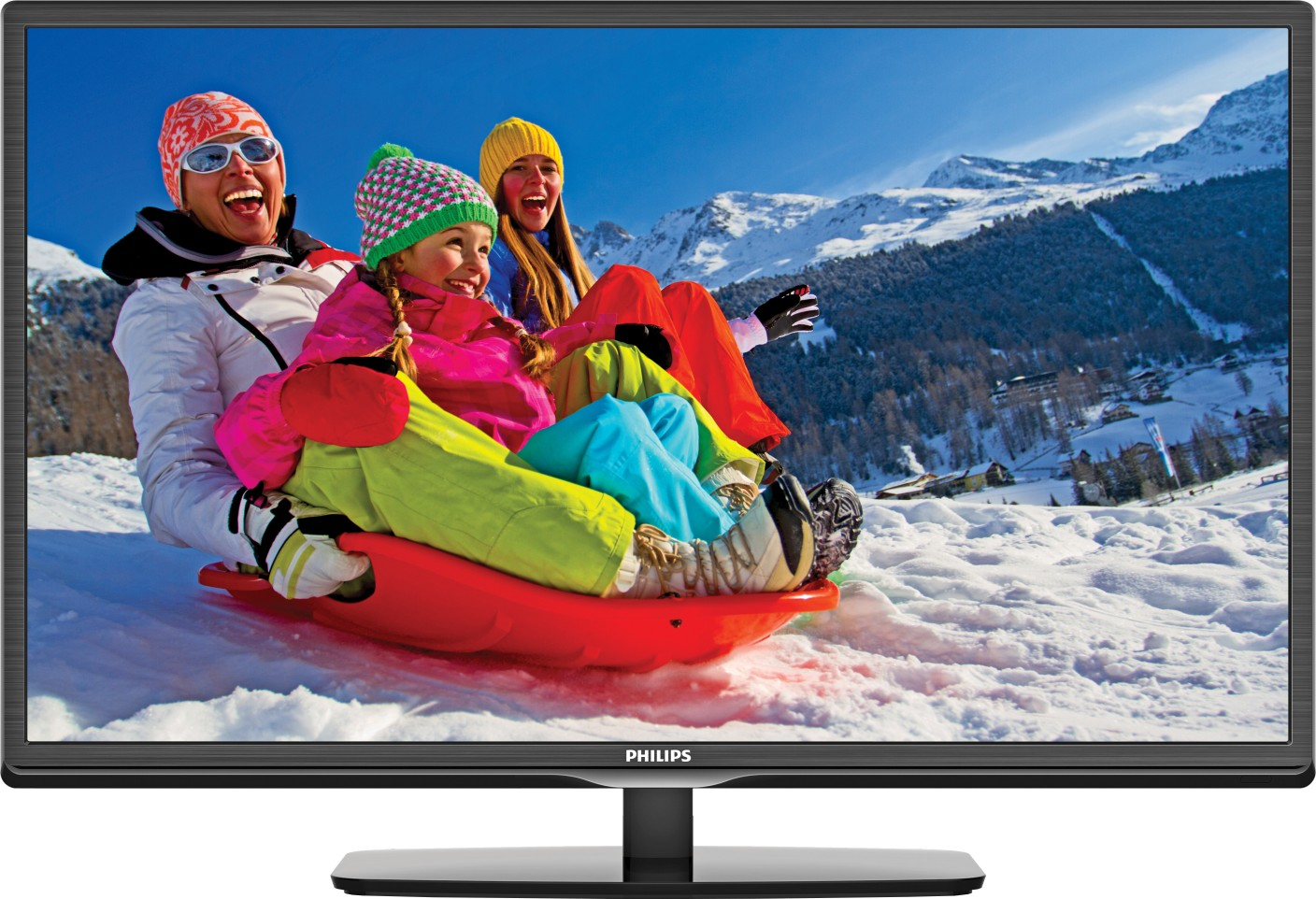 philips 74 cm 28 inch hd ready led tv online at best prices in india. Black Bedroom Furniture Sets. Home Design Ideas