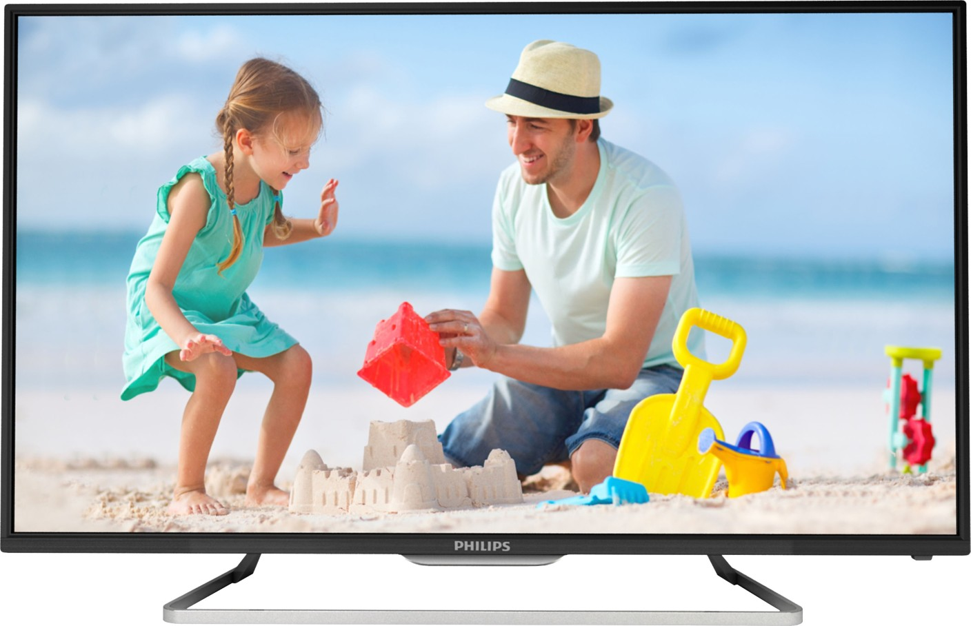 philips 107 cm 42 inch full hd led tv online at best prices in india. Black Bedroom Furniture Sets. Home Design Ideas
