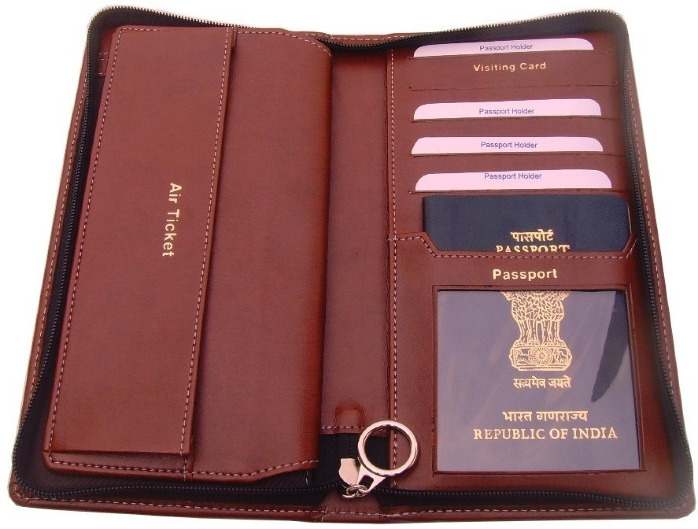 Sukeshcraft Travel Wallet Brown Price In India