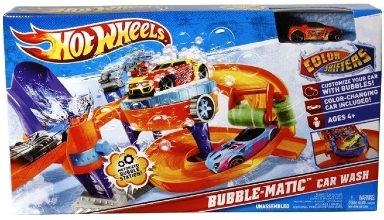 Hot Wheels Color Shifters Bubble Matic Car Wash Color