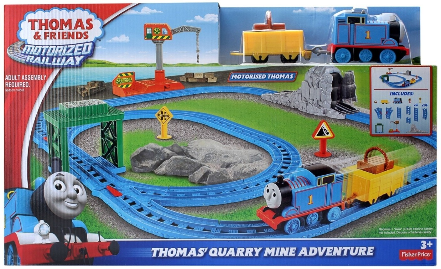 Thomas Amp Friends Thomas Quarry Mini Adventure Thomas