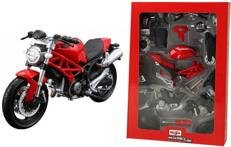 Maisto ducati monster 696 assembly line kit motorcycle for General motors assembly line job description