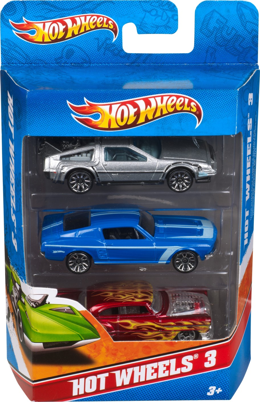 hot wheels 3 car pack on offer