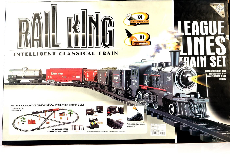 Rail king league lines train set league lines train set for General motors assembly line job description