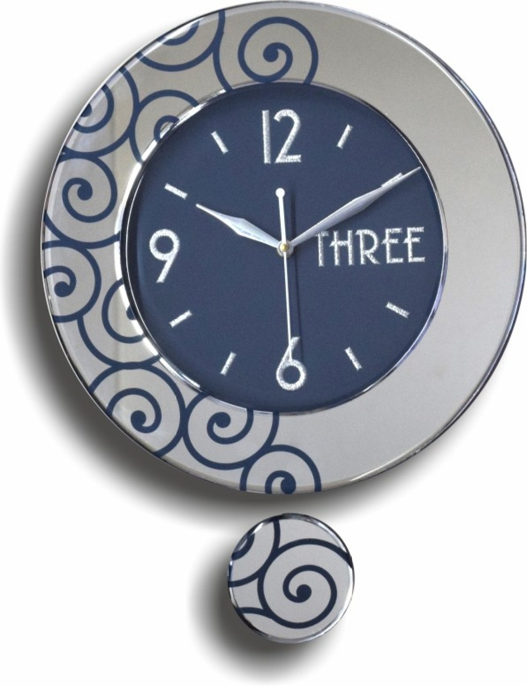 Q Time Analog Wall Clock. ON OFFER