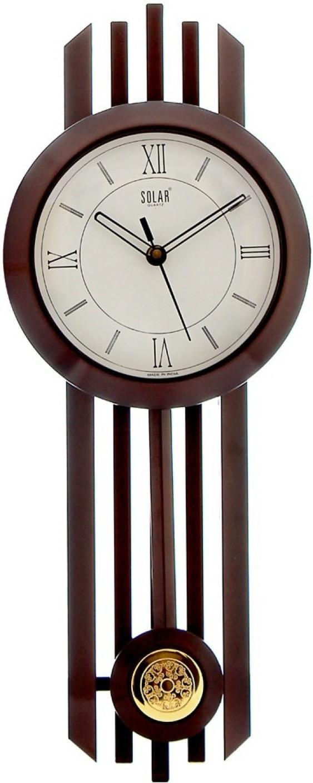 Solar Analog 24 cm Dia Wall Clock