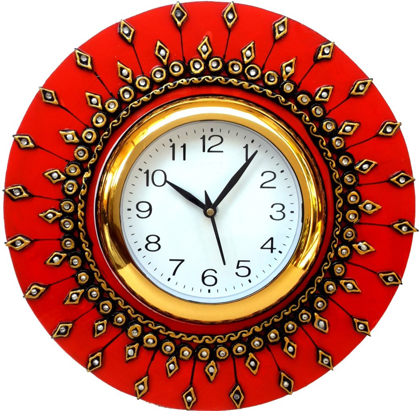 DivineCrafts Analog Wall Clock Price in India