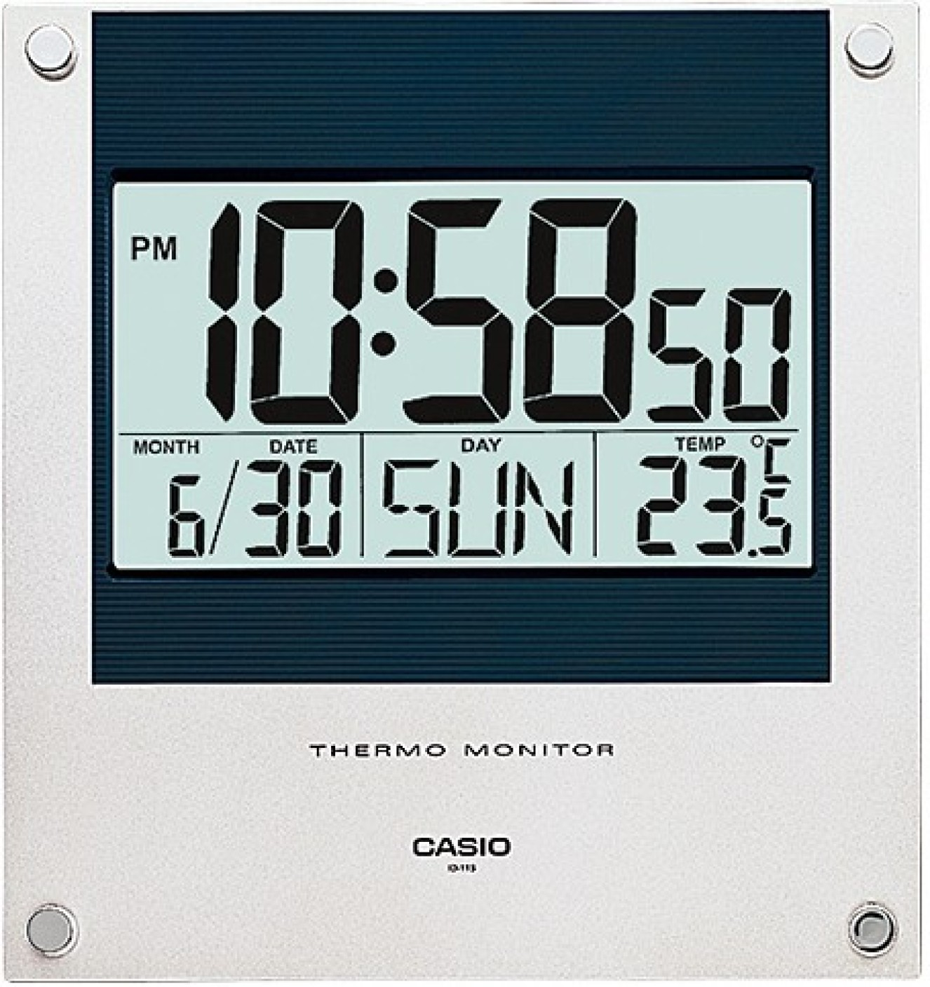 Casio wall clock online image collections home wall decoration ideas casio digital wall clock price in india buy casio digital wall casio digital wall clock wishlist amipublicfo Choice Image