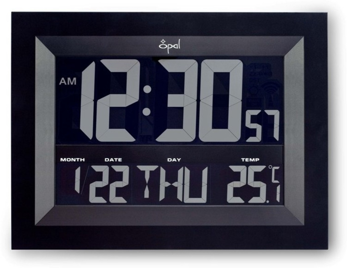 Opal digital wall clock price in india buy opal digital wall opal digital wall clock share amipublicfo Choice Image