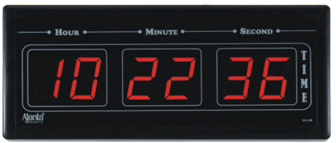 Ajanta digital wall clock price in india buy ajanta for Led digital wall clock in india