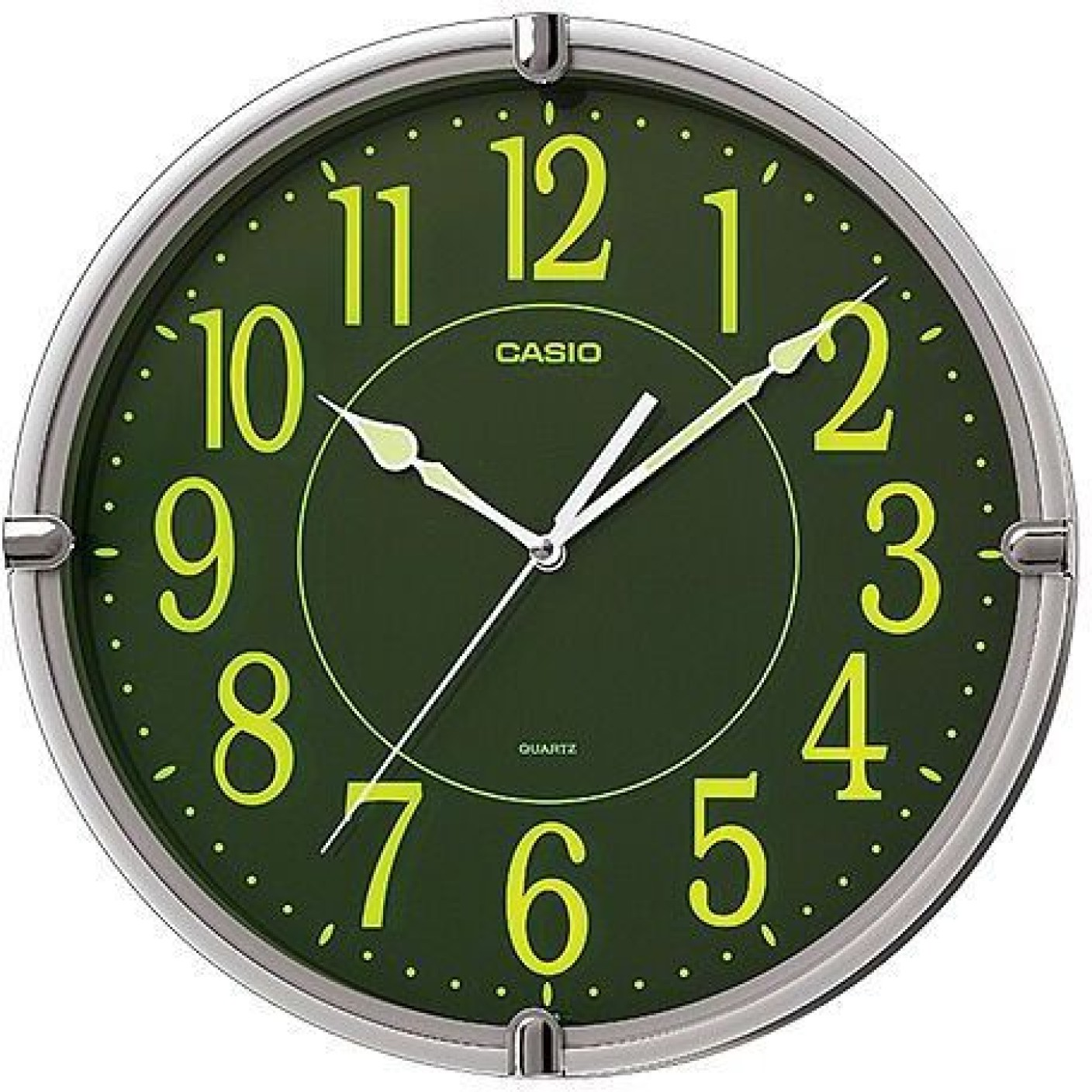 Casio analog wall clock price in india buy casio analog wall casio analog wall clock wishlist amipublicfo Gallery