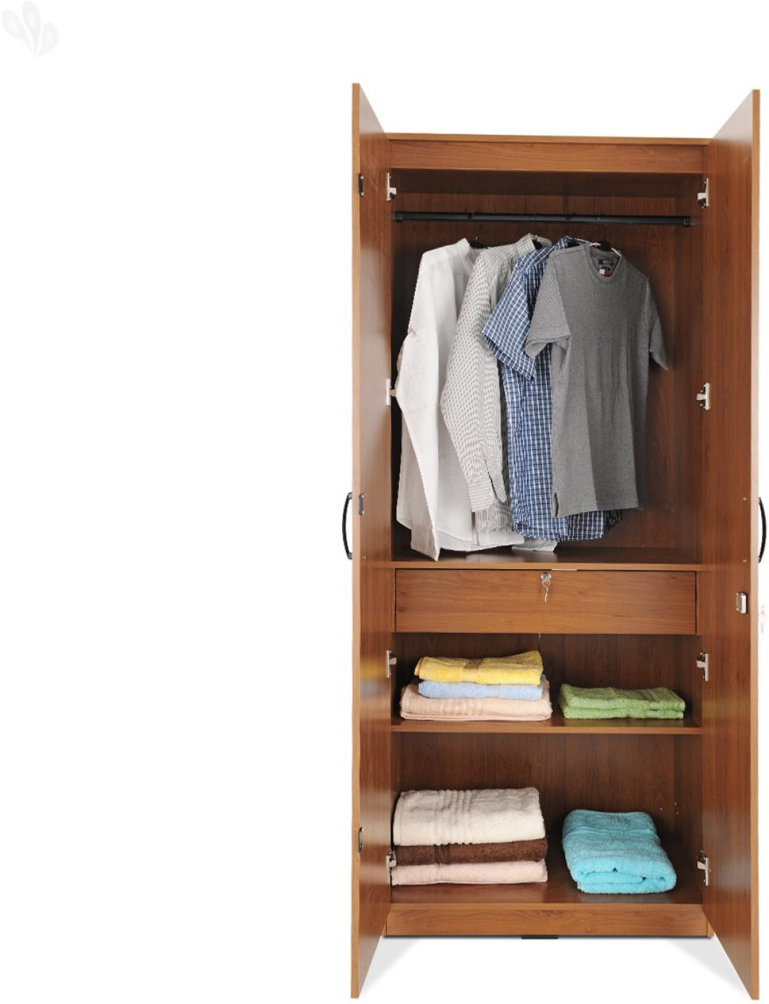 zuari furniture wardrobe. Zuari Engineered Wood 2 Door Wardrobe Share Home Furniture