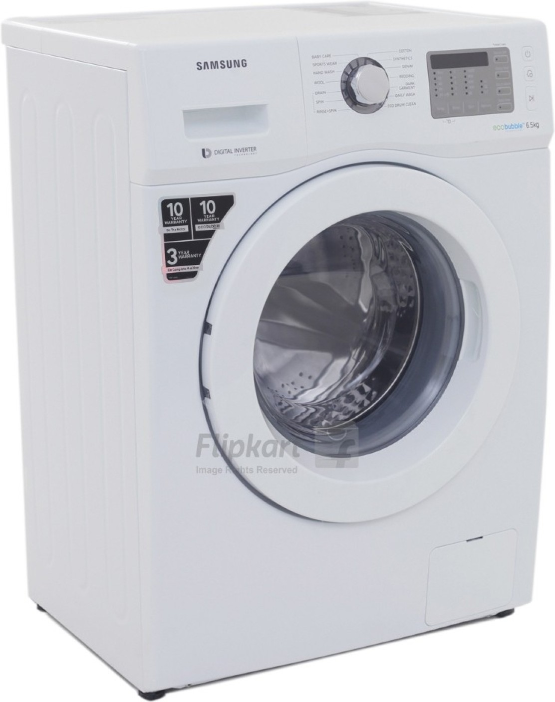 Samsung 6.5 kg Fully Automatic Front Load Washing Machine ...