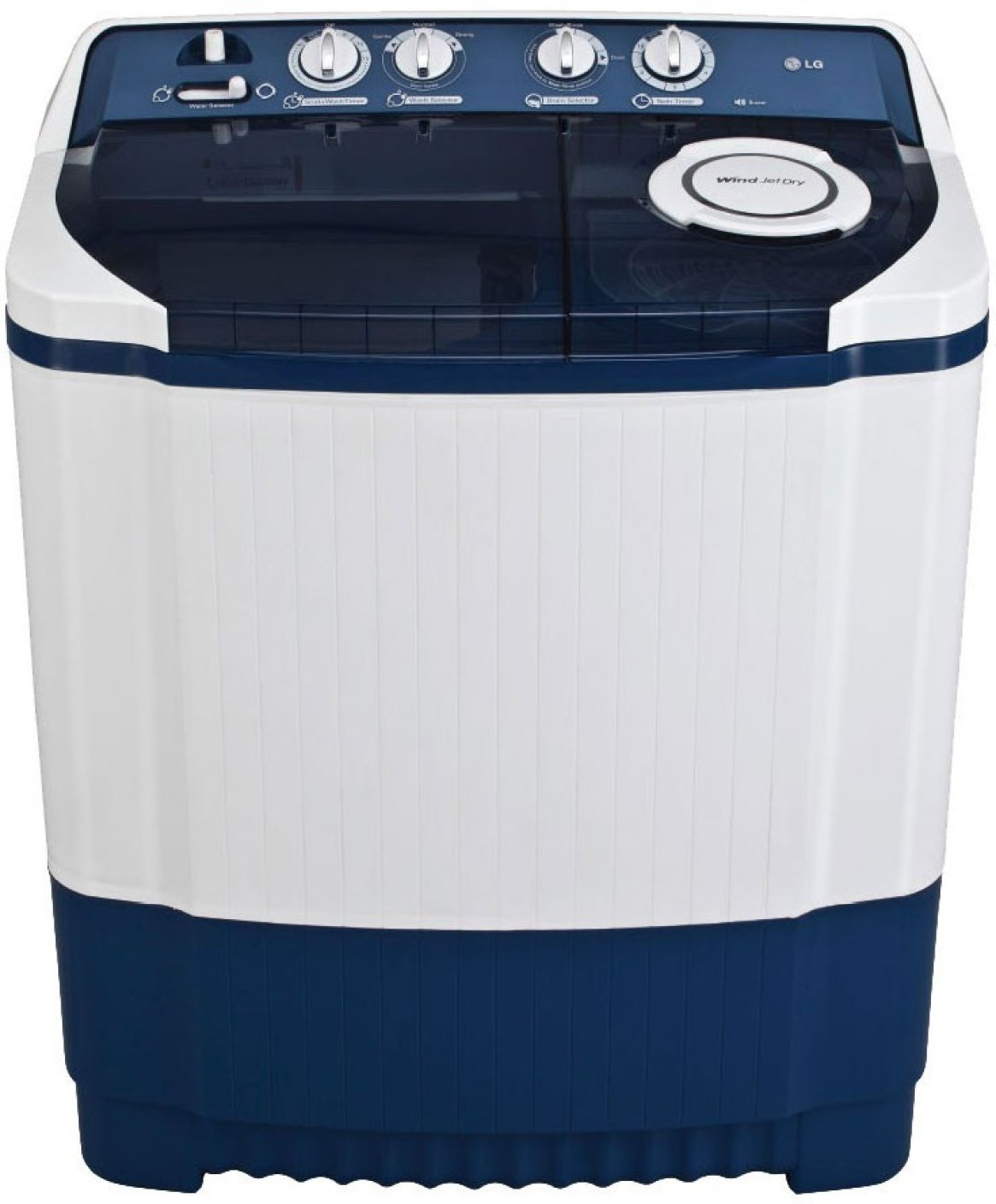 LG 7 kg Semi Automatic Top Load Washing Machine Price in ...