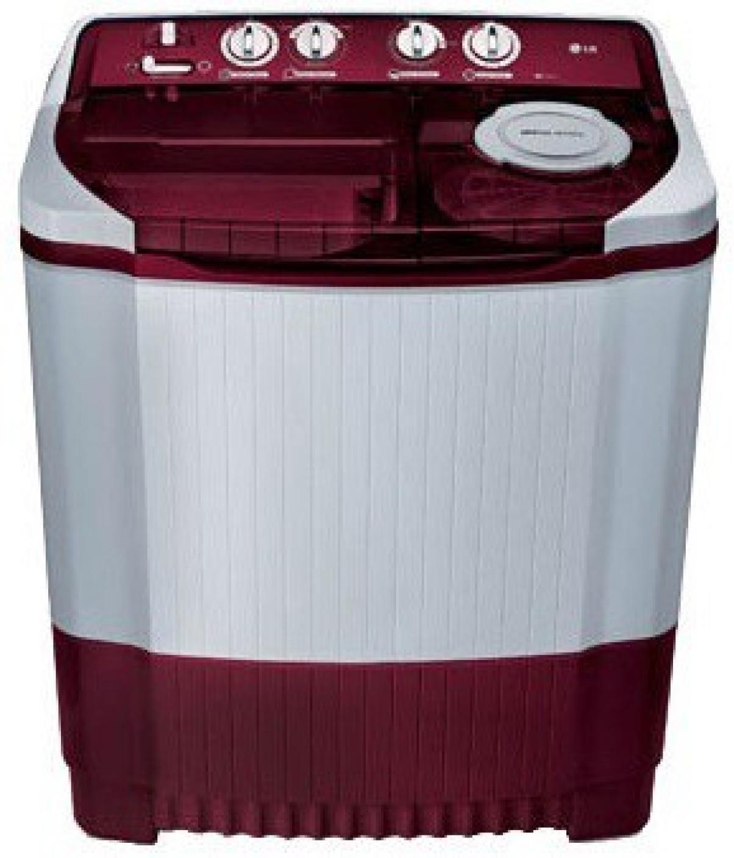 LG 8 kg Semi Automatic Top Load Washing Machine White ...