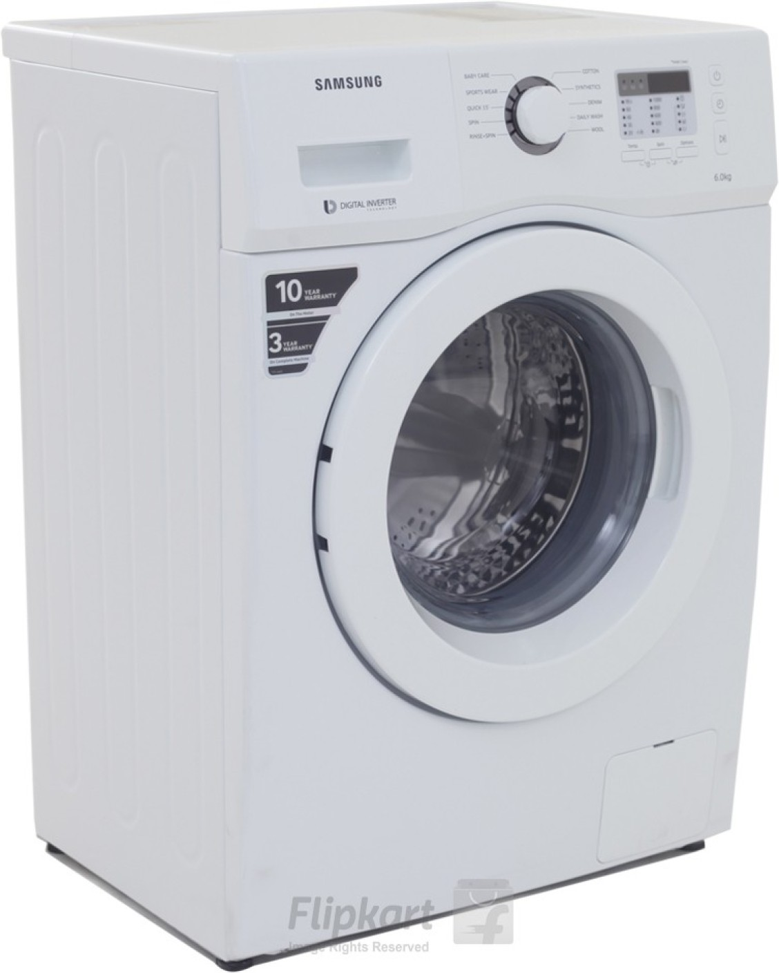 Samsung 6 kg Fully Automatic Front Load Washing Machine ...