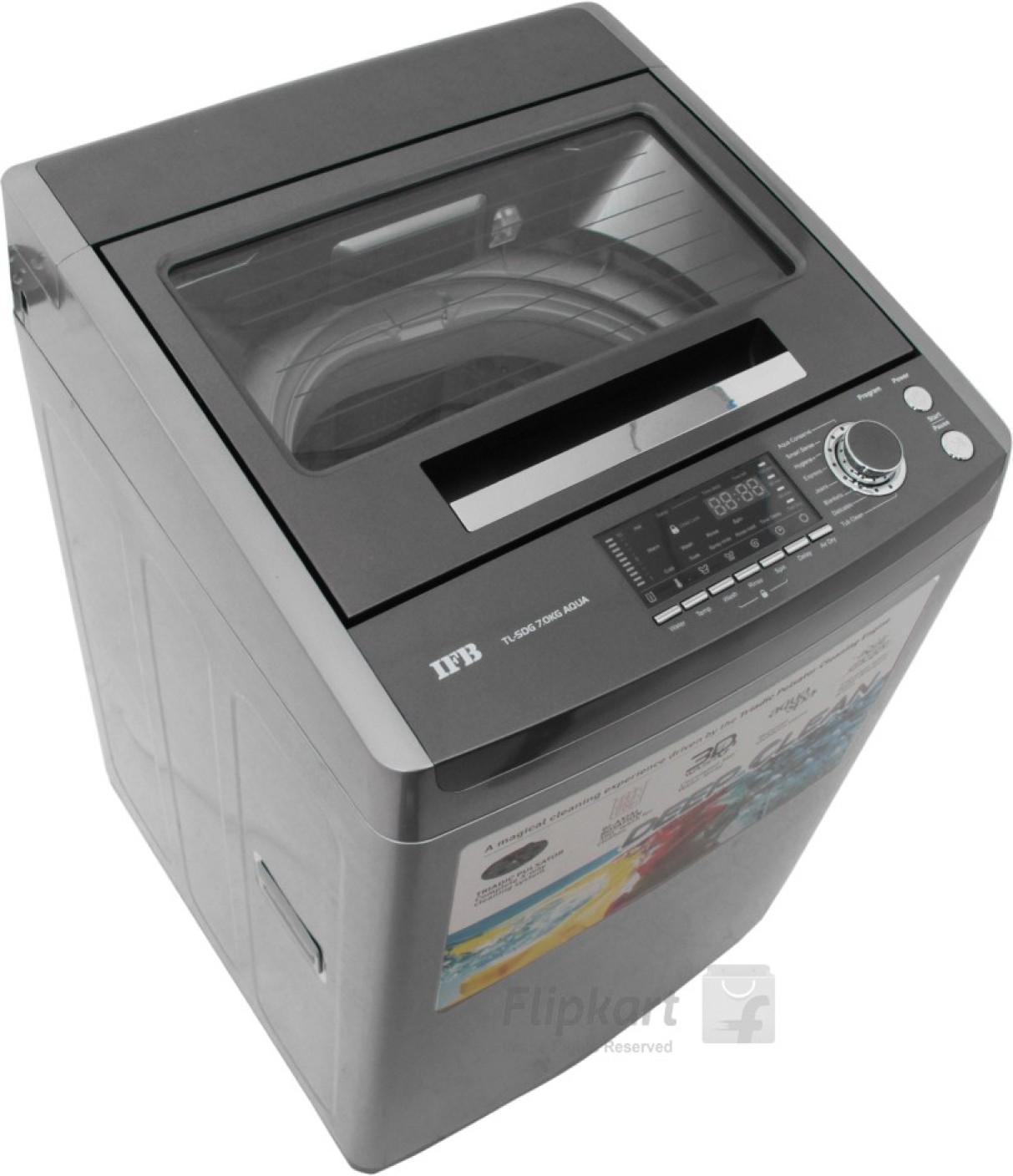 Ifb 7 Kg Fully Automatic Top Load Washing Machine Grey