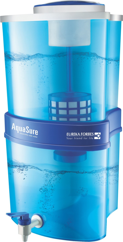 Eureka Forbes Aquasure Xtra Tuff 15 L Gravity Based Water Purifier ...