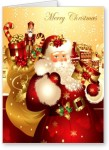 lolprint merry christmas greeting card(multicolor, pack of 1)