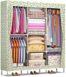 Furn Central 2 Door PP Collapsible Wardrobe