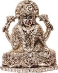 art n hub goddess lakshmi / laxmi & idol god statue gift item decorative showpiece  -  5 cm(brass, gold)