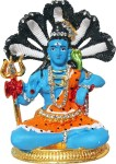 art n hub lord shiva / shiv shankar god idol home décor pooja statue gift decorative showpiece  -  8 cm(brass, gold)