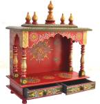 Marusthalee Temple for home Solid Wood Home Temple