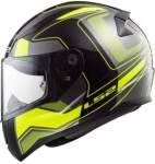 LS2 Carrera Black Yellow Motorbike Helmet