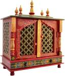 Marusthalee Designer Temple Solid Wood Home Temple