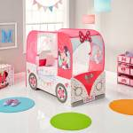 Disney Minnie Mouse Campervan Kids Toddler Bed Engineered Wood Single Bed