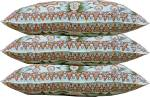 GOWRI TEX Microfibre Floral Sleeping Pillow Pack of 3