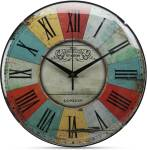 ADONAI Analog 4 cm X 30 cm Wall Clock